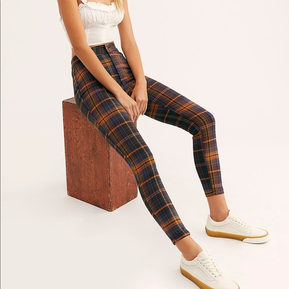 Download Free People Plaid Pants Images